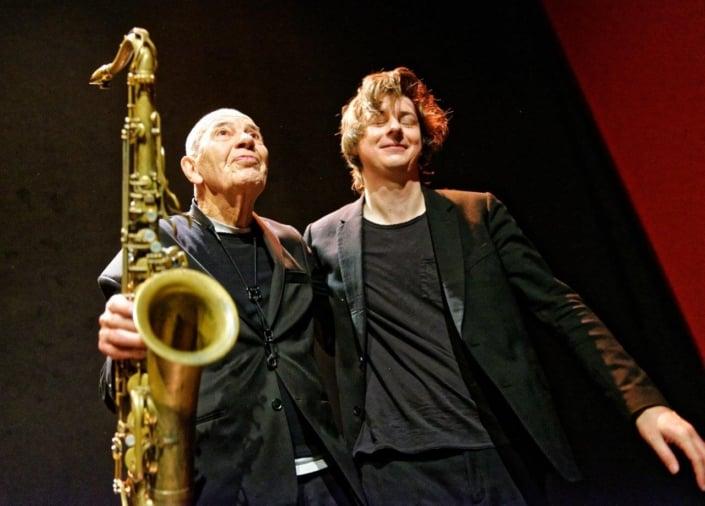 Heinz Sauer, Michael Wollny