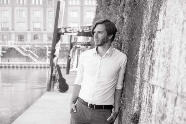 Benjamin Kolloch, Gitarrist der Band The Royal Bopera House Trio