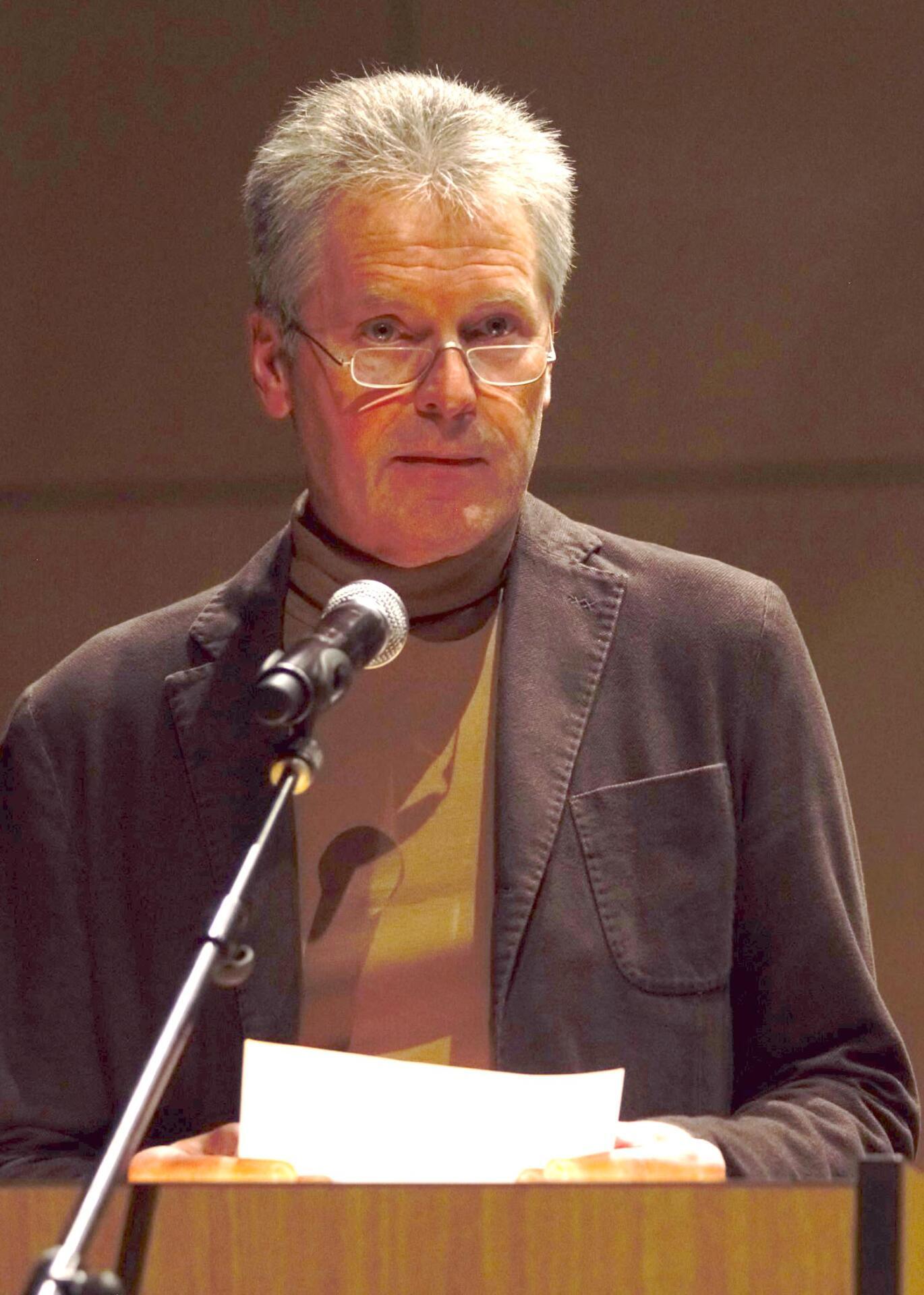 Dr. Ulrich Adolphs, stv. Leiter der Kulturabteilung Hessisches Ministerium für Wissenschaft und Kunst (HMWK)
